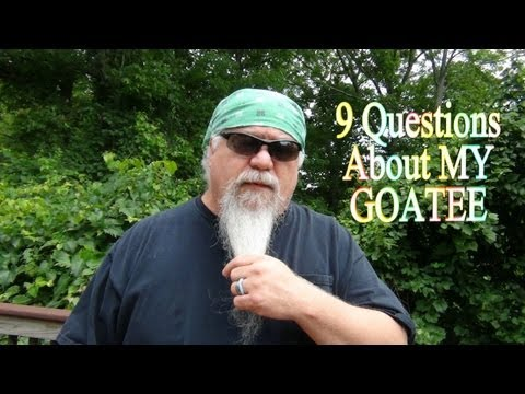 9 Questions About My Goatee