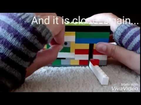 Lego  Safe | Easy mechanism with key