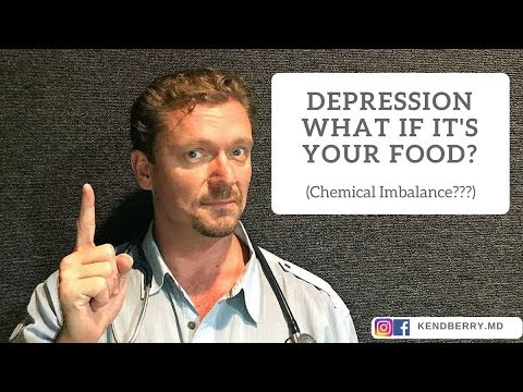 Depression: What if it's Your Food (2018 Theory)