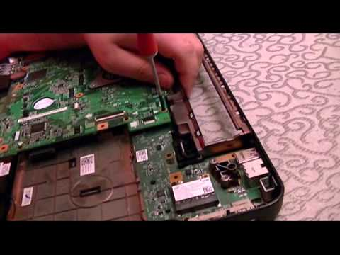 Dell Inspiron N5110 Hard Drive Replacement (Full Disassembly and Reassembly)