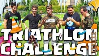 TRIATHLON CHALLENGE - MATES & FAVIJ, CHI PERDE SECCHIATA DI GHIACCIO!!