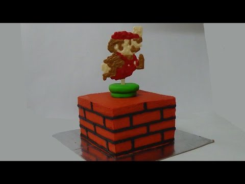 how to make super mario cake