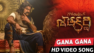 Gana Gana Gana Full Video Song  Gautamiputra Satakarni  Balakrishna Shriya  Chirantan Bhatt