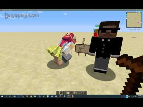 Custom NPCs - the secret behind the Scene command