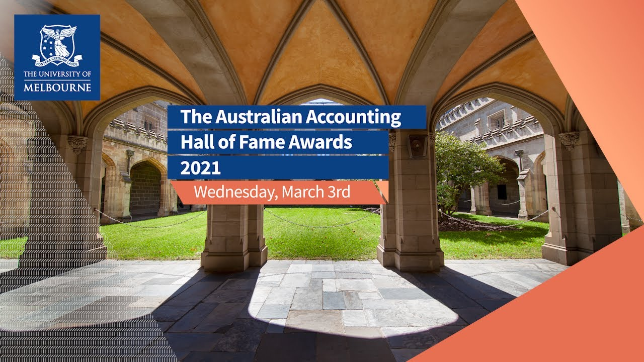 2021 Australian Accounting Hall of Fame Awards