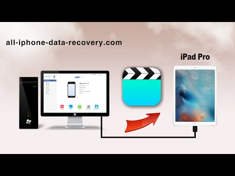 How to Transfer Videos from Computer to iPad Pro without iTunes, Import Video to iPad Pro