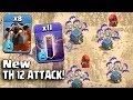 8 Lava  11 New Bat Spell  New Stone Slammer  New Th12 War 3 Star Attack Strategy 2018 Updated