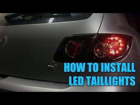 DIY LED Tail Light Upgrade   Mazda 3   Chasing Status   S03E07