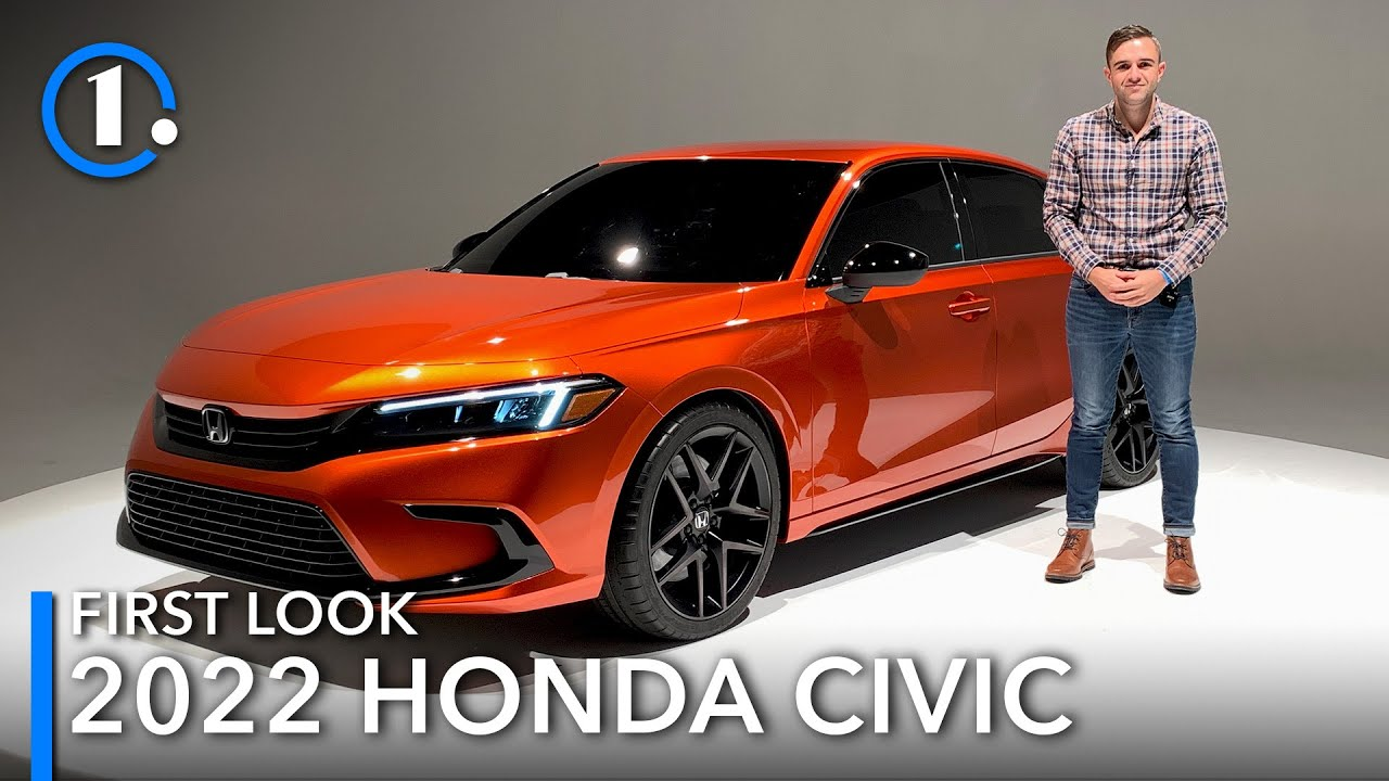 2022 Honda Civic Prototype: First Look (Up-Close Details)