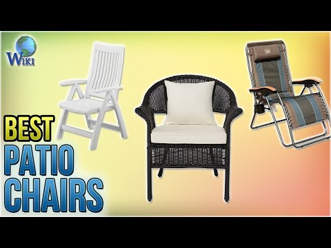 10 Best Patio Chairs 2018