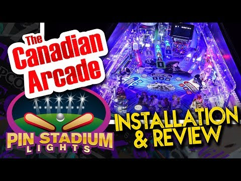 Pin Stadium Lights install and review on Stern Star Wars Pinball