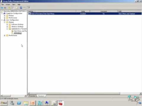 Windows Server 2008 R2 Quick Look #5 - Group Policy Management