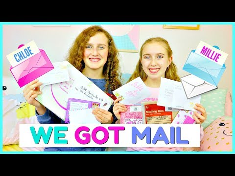 FIRST PO BOX OPENING!  Millie and Chloe