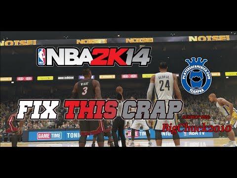 NBA 2k14 || FIX THIS || @Ronnie2k @2k