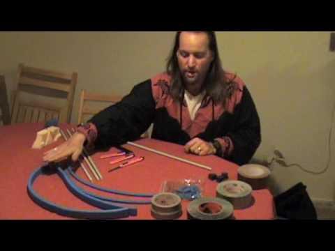 FanWar LARP sword making Video part 1