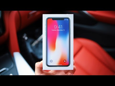 Apple iPhone X Unboxing & Initial Impressions!
