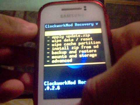 Instalar Recovery CLOCKWORKMOD En Samsung Galaxy Y