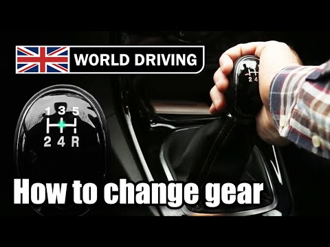 How to change gear in a car (palming method)