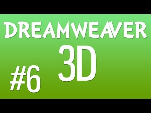 DREAMWEAVER 3D #6: Continuing to Build the Search Box