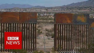 Mexican building US wall: It
