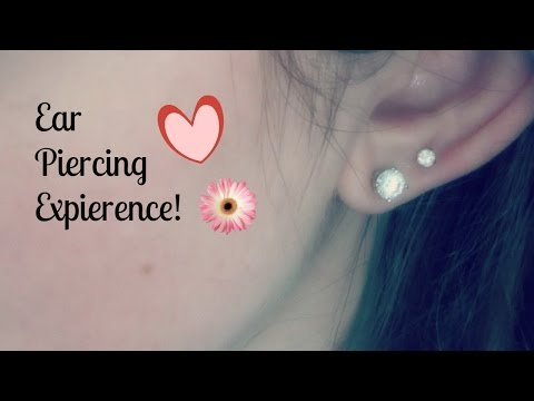 MY EAR PIERCING EXPIERENCE + How To Clean Your New Piercing!