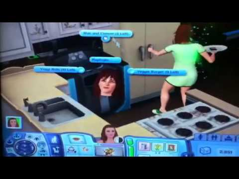 How To Use The Food Replicator - The Sims 3
