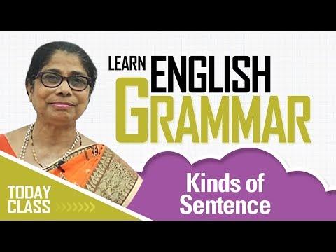 Learn English Grammar | Kinds of Sentence | Basic English Grammar for kids