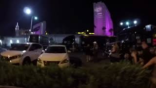 First shots of Las Vegas Worst Mass Shooting in U.S. history - Oct 1, 2017