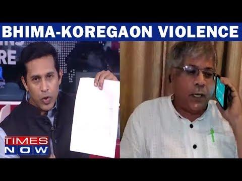 Times Now Confronts Dalit Activist Prakash Ambedkar