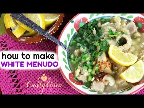 How to Make White Menudo    Mexican Food Recipe