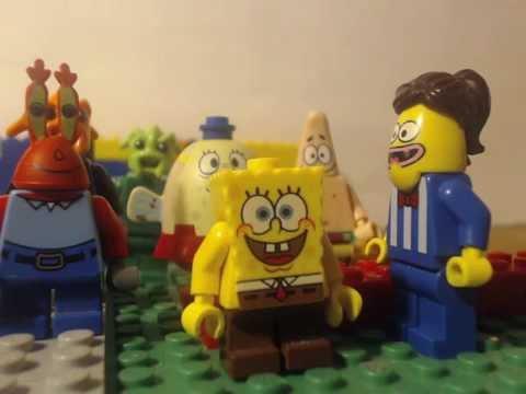 lego spongebob band geeks