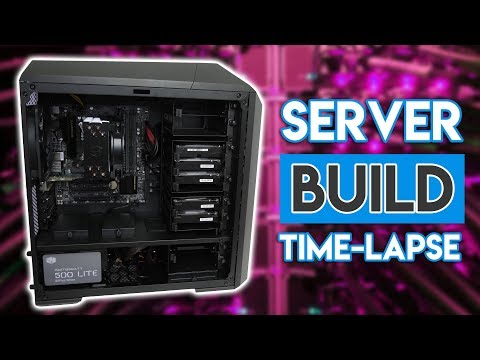 Building the ULTIMATE BUDGET 10Gbit Server! [TIMELAPSE!]