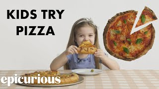 Kids Try 10 Styles of Pizza from Around the World   Bon Appétit
