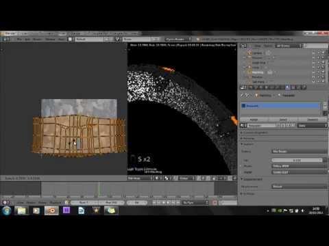 Blender 2.66 Tutorial - How to make a Stargate - Part 4