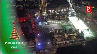 Pista De Hielo 2018, Monumento A La Revolución | Www.edemx.com