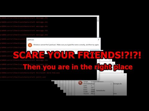 Some viruses to prank your friends? FMV #23