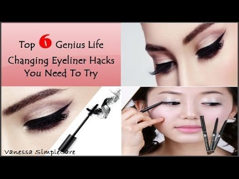 Top 6 Genius Life Changing Eyeliner Hacks You Need To Try