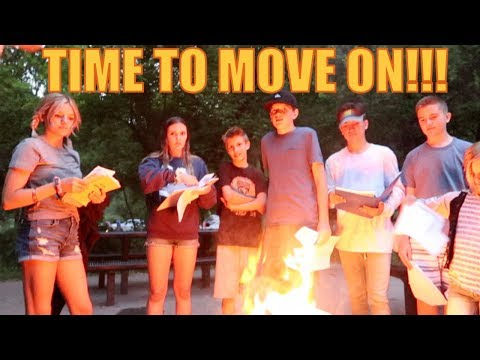 BURNING SCHOOL BOOKS AND BAD MEMORIES | THE LEROYS