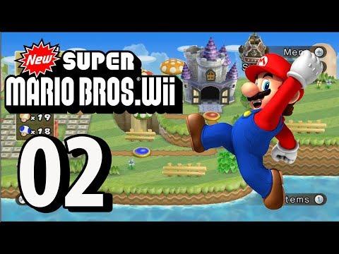 New Super Mario Bros. Wii - Part 2 (4 Player, 2018)