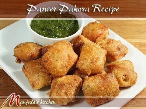 Paneer Pakoras Recipe by Manjula
