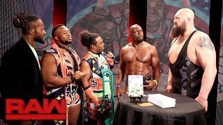 """""""New Day Talks"""" with special guest star Big Show: Raw, March 13, 2017"""