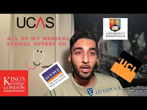 HOW I GOT ALL MY MEDICINE UNIVERSITY OFFERS UK