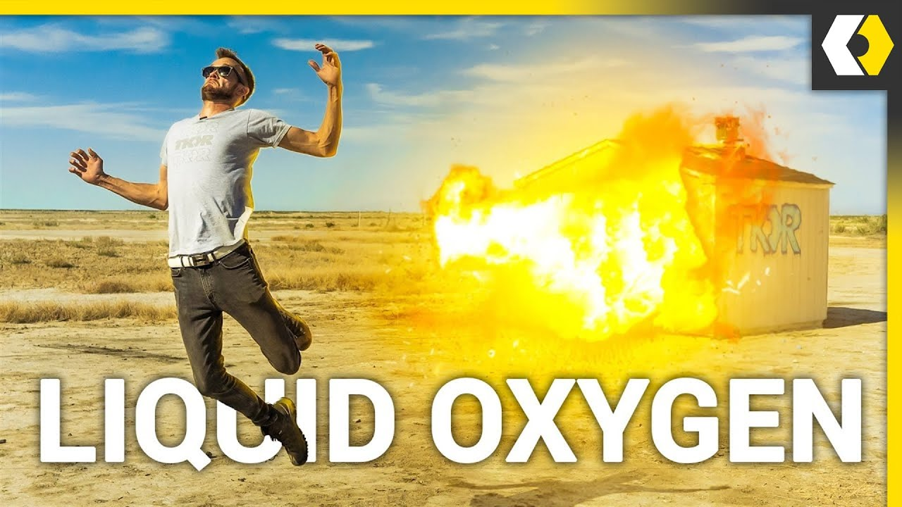 Why You Should NEVER Spill Liquid Oxygen