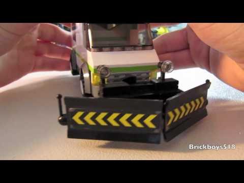 Custom LEGO Creation: Snowplow