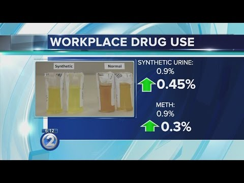 Synthetic urine, meth use rise in workforce drug testing
