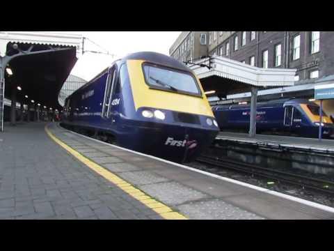 London Paddington 02/01/2017 (FT Daily services & HSTs