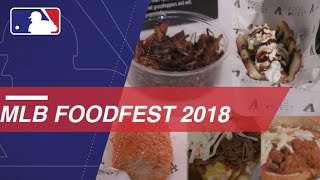 Check out the best of MLB FoodFest 2018