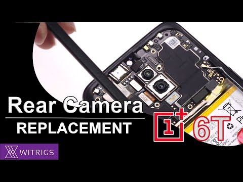OnePlus 6T Rear Camera Replacement - Tutorial