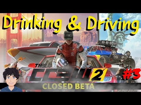 DRINKING & DRIVING | THE CREW 2 CLOSED BETA GAMEPLAY (TC2) #3 | PS4 |