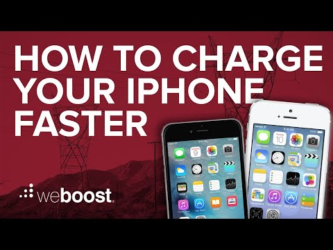 How To Charge Your iPhone Faster   weBoost
